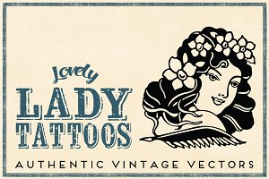 Retro Tattoos Nine Sailor Ladies