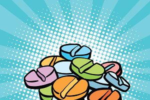 pills, sports doping and drugs