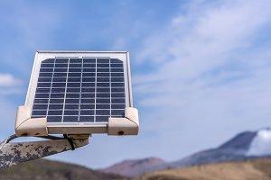 renewable solar energy from sun