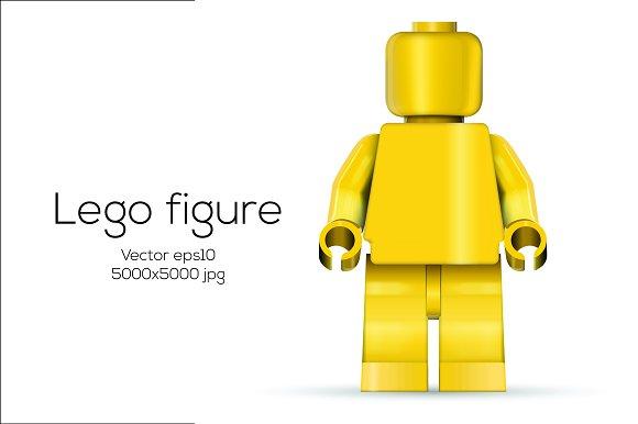 Vector lego figure illustrations creative market stopboris Gallery