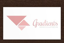 Gradients - Logo Template PSD