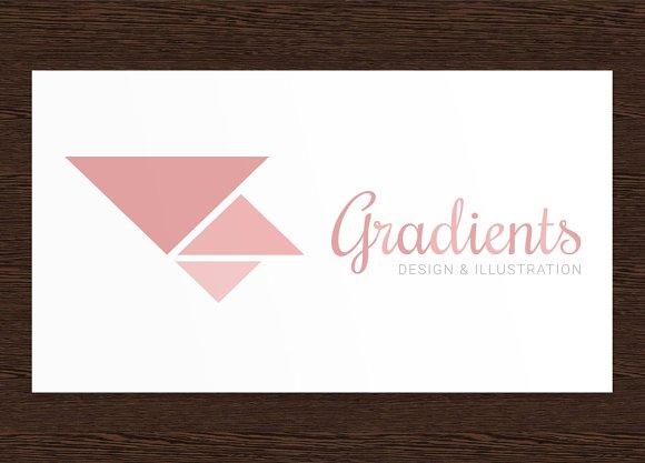 Gradients - Logo Template PSD
