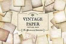 Vintage Paper Textures Effervescent