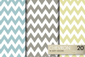 Chevron in Soft Colors