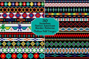 Native American Beaded Borders