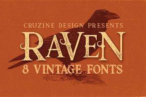 Raven Typeface