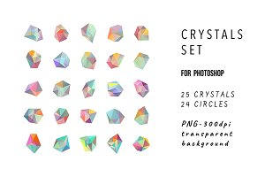 Crystals for photoshop