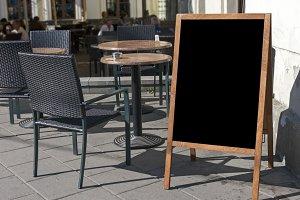 Empty menu