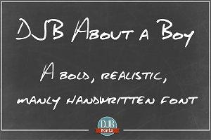 DJB About a Boy Font