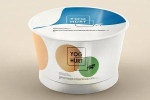 Yoghurt Mock-up 8