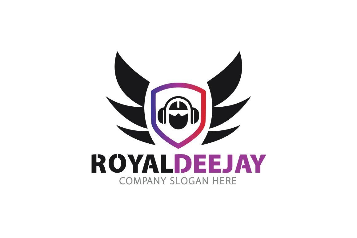 Royal Dj Logo ~ Logo Templates ~ Creative Market