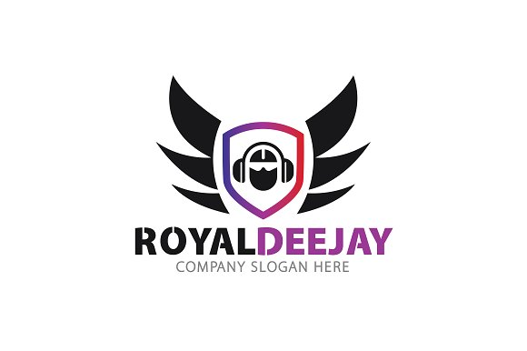 royal dj logo logo templates creative market