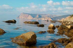 Sea, shore and stones