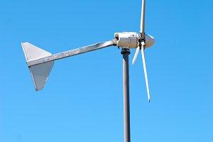 Wind electric turbine generator