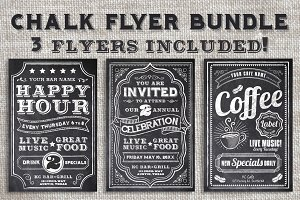 Chalk Flyer Bundle Pack