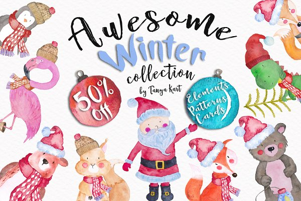 50% Off Awesome Winter Collection