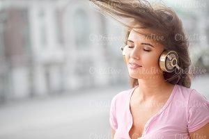 Calming music.