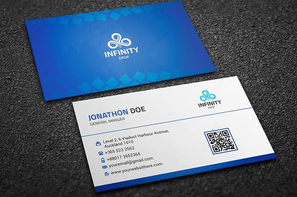 Infinity Drop Logo in Logo Templates - product preview 4