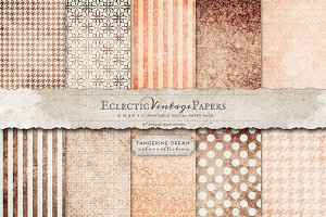 Printable Papers - Tangerine Dream
