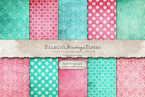 Printable Papers - Pretty Parade