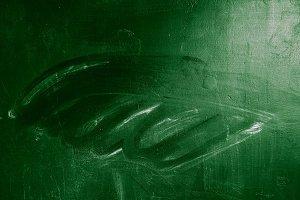 erased chalk board