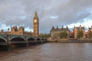 Westminster Bridge in London