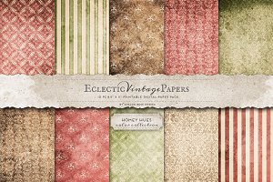 Printable Papers - Homey Hues