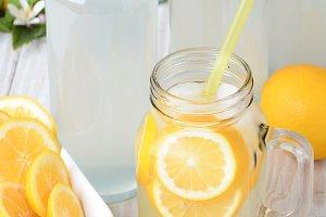 Old Fashioned Sparkling Lemonade