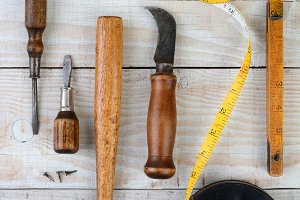 Od Tools on Wood