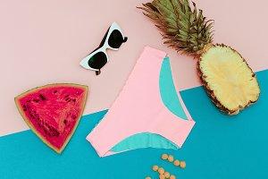 Tropical Mix. Fashion beach