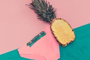 Tropical Beach Fashion Style