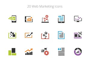 Web Marketing Icons