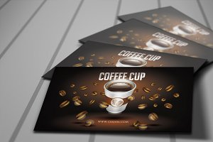 Coffee Cup Loyalty Cards