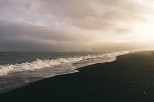 Nordic Beach after the Rain