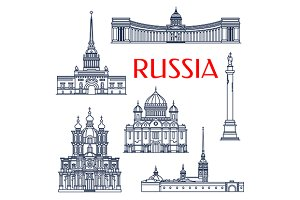 Russian landmarks and attractions