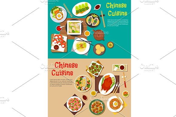 Chinese cuisine dishes menu