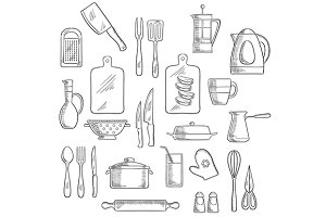 Kitchen utensil and appliance