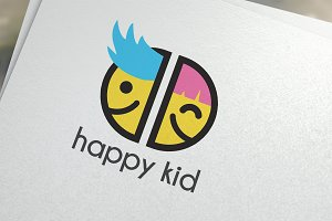 Happy Kid Logo