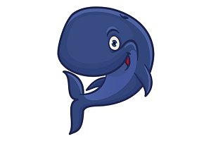 Blue sperm whale