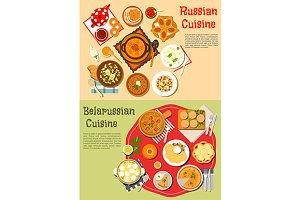 Russian and belarussian cuisine