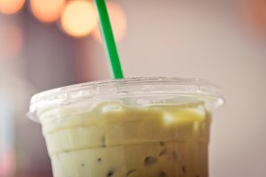 Iced Matcha Green Tea Latte