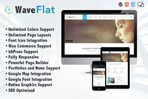 Wave Flat - Mutipurpose Theme