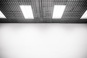 Walls and ceilings with light