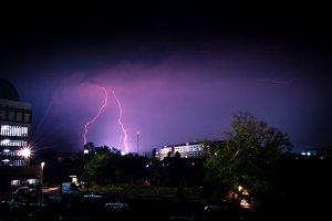 thunderbolt from dark sky