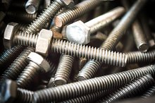 Bolts and screws for technicians