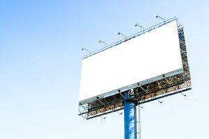 Tall billboards for advertising