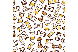 Hourglasses and sandglasses pattern
