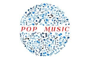 Pop music concept
