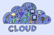 The cloud computing concept