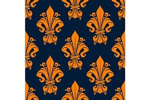 Medieval victorian heraldic pattern